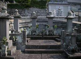 潁川家墓地2.4.5代の墓 福済寺