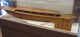 三十石船の模型(インタ一ネットから)