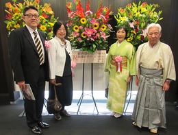 左から花本さん、進藤さん、見延、山根さん