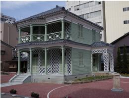 再建されたグリフィス記念館(福井市)  グリフイス記念館HPより