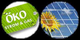 Ökostrom & gas + PV-Anlage
