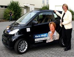 CDU - Karin Wolff smartbeschriftung