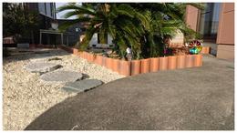 瓦でガーデニング例 写真 加須市 屋根工事 ©2018屋根工芸 ㈱大塚興業社