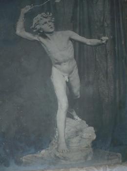 David combattant Goliath