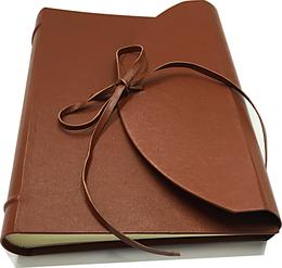 Leather photo album luxury conti borbone