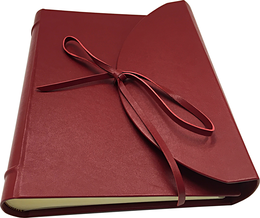 Leather photo album luxury customized