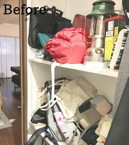 片付け事例:棚が使いにくい