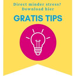 gratis tips leefstijl burn-out energie rust balans checklist burnout