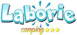 logo camping laborie pradons Ardèche