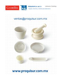 Distribuidor / proveedor de la linea en porcelana COORS TEK en Mexico, CDMX, Area metropolitana.