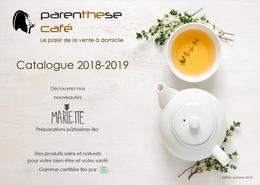 Catalogue Parenthese Café 2018-2019
