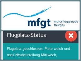 Flugplatz Status Lommis LSZT