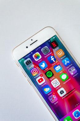 Laut Statista gibt mind. 15 verschiedene soziale Netzwerke