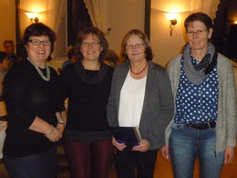 v. l. Andrea Gosch- Petersen, Silke Christiansen, Sunhild Andresen und Doris Marxsen