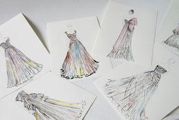Jennifer Klein Couture Eveningwear Abendkleider Couturiere