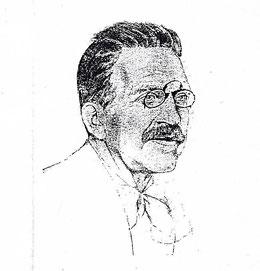 Walter de Gruyter, 1920, Lithographie von Emil Orlik