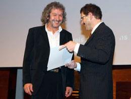 Foto: Uebergabe des Thurgauer Kulturpreises an Regisseur Jean Gräde- 2007