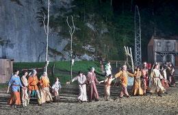Schlusspräsentation der Aufführung von Winnetou II (2018)