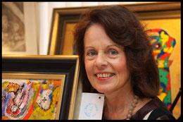 Beate Maria Schmidt, Künstlerin, Actionpainting