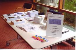 Büchertisch des Heimatvereins