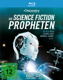 Blu-ray Cover Die Science Fiction Propheten