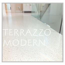 Moderner Terrazzo, Terrazzo modern, moderner Terrazzoboden