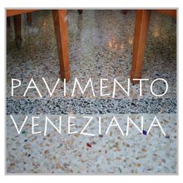 Pavimento Veneziana, Venezianischer Terrazzo, Terrazzo alla Veneziana