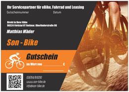 Gutschein Son-Bike