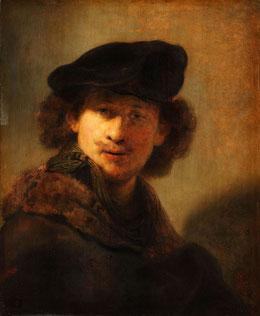 Rembrandt autoportrait