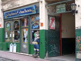 Eingang zum Mercado de San Telmo