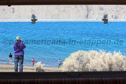 Blick aus dem Heckfenster - es ist Walzeit