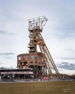 Bergwerk Zeche Ewald Fortsetzung in Oer-Erkenschwick, Ruhrgebiet, Deutschland, Industriekultur, Industrie, Zechen, Bergbau, Steinkohle