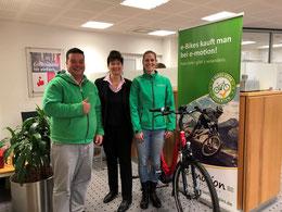Sparkasse zu Lübeck ist Kooperationspartner der e-motion e-Bike Welt Lübeck