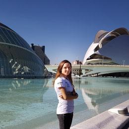 Anja in Valencia