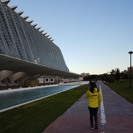 Anja Scherl in Valencia