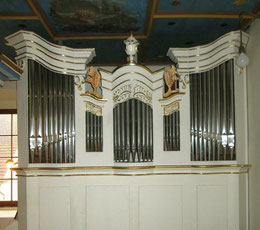 Erneuerte Oskar-Ladegast-Orgel