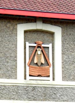 Le sigle des apiculteurs-Ph: Rémy Godbert