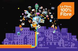 Fibre Orange, un réseau 100 % Fibre.