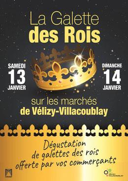 La Galette des Rois - Marchés de Vélizy-Villacoublay.