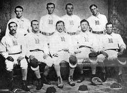 La squadra Troy Haymakers del 1869 (Getty images)