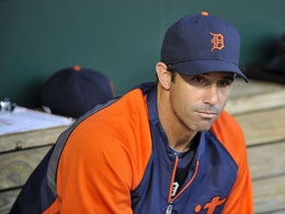 Nella foto Brad Ausmus (Photo: Joy R. Absalon, USA TODAY Sports)