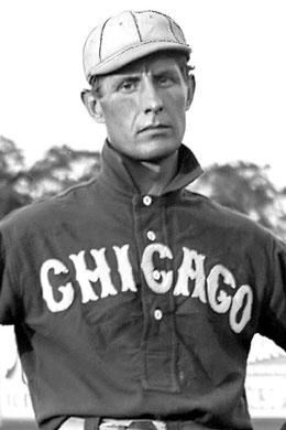 Nella foto Fielder Jones dei Chicago White Sox