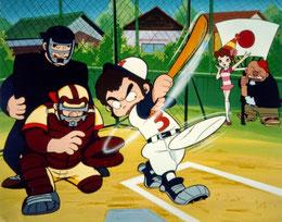 """""""Ippatsu Kanta-Kun"""" tradotto in Italia come """"Il fichissimo del baseball"""""""