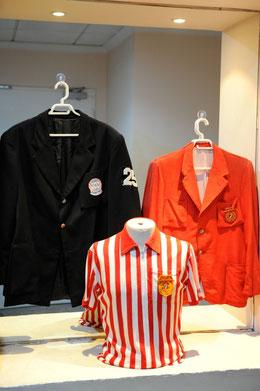 Alcune divise degli Umpire del passato (Foto dal sito FIBS - Duck Foto Press)