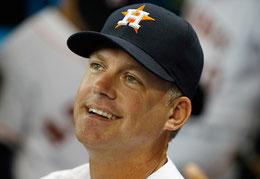 Nella foto AJ Hinch, manager degli Astros (da Scott Halleran/Getty Images North America)