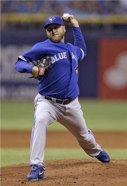 Nella foto Mark Buehrle attualmente ha 35 anni e 15 passati sui monti della MLB
