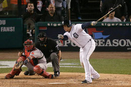Nella foto Miguel Cabrera (Charlie Riedel/Associated Press)