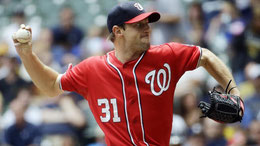 Nella foto Max Scherzer (Photo: Morry Gash/AP)