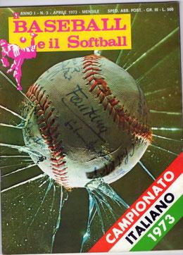 """""""Il Baseball e il Softball"""" con l'editoriale di Everardo Dalla Noce"""