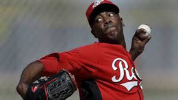 Nella foto Aroldis Chapman (AP Photo/Paul Sancya)